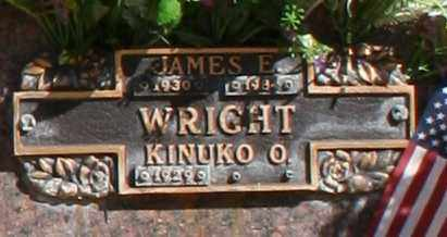 WRIGHT, JAMES E - Maricopa County, Arizona | JAMES E WRIGHT - Arizona Gravestone Photos