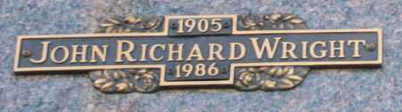 WRIGHT, JOHN RICHARD - Maricopa County, Arizona | JOHN RICHARD WRIGHT - Arizona Gravestone Photos
