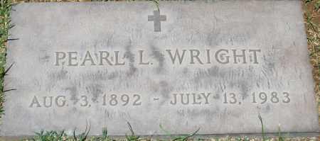 WRIGHT, PEARL L. - Maricopa County, Arizona   PEARL L. WRIGHT - Arizona Gravestone Photos
