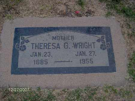 WRIGHT, THERESA - Maricopa County, Arizona | THERESA WRIGHT - Arizona Gravestone Photos