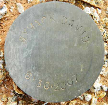 WYMACK, DAVID - Maricopa County, Arizona | DAVID WYMACK - Arizona Gravestone Photos