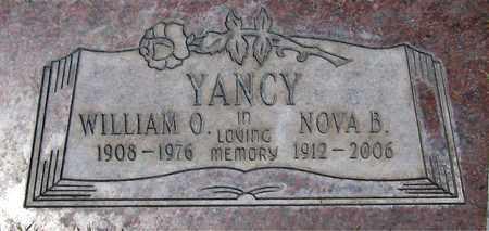 YANCY, NOVA B. - Maricopa County, Arizona | NOVA B. YANCY - Arizona Gravestone Photos