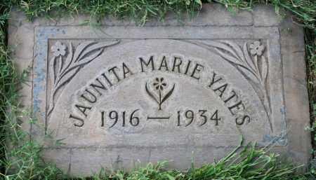 YATES, JAUNITA MARIE - Maricopa County, Arizona | JAUNITA MARIE YATES - Arizona Gravestone Photos
