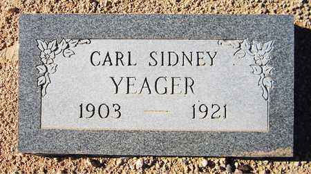 YEAGER, CARL SIDNEY - Maricopa County, Arizona | CARL SIDNEY YEAGER - Arizona Gravestone Photos