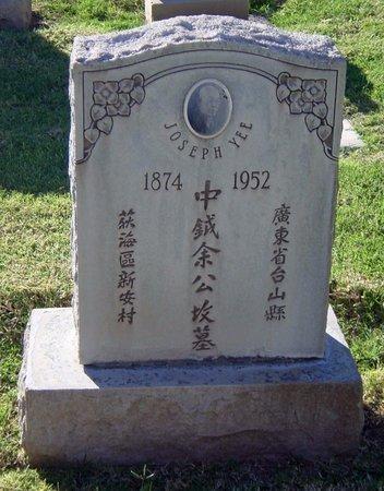 YEE, JOSEPH - Maricopa County, Arizona   JOSEPH YEE - Arizona Gravestone Photos