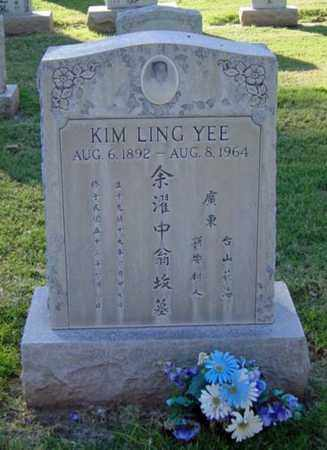YEE, KIM LING - Maricopa County, Arizona | KIM LING YEE - Arizona Gravestone Photos