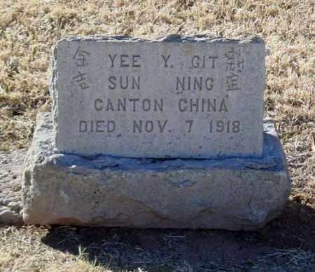 YEE, Y. GIT - Maricopa County, Arizona | Y. GIT YEE - Arizona Gravestone Photos