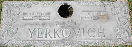 YERKOVICH, JENNIE K. - Maricopa County, Arizona | JENNIE K. YERKOVICH - Arizona Gravestone Photos