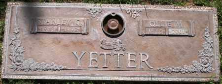 YETTER, STANLEY G - Maricopa County, Arizona | STANLEY G YETTER - Arizona Gravestone Photos