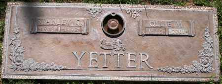 YETTER, OLLIE M - Maricopa County, Arizona | OLLIE M YETTER - Arizona Gravestone Photos
