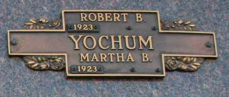 YOCHUM, ROBERT B - Maricopa County, Arizona | ROBERT B YOCHUM - Arizona Gravestone Photos