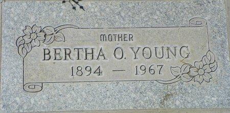 YOUNG, BERTHA O - Maricopa County, Arizona | BERTHA O YOUNG - Arizona Gravestone Photos