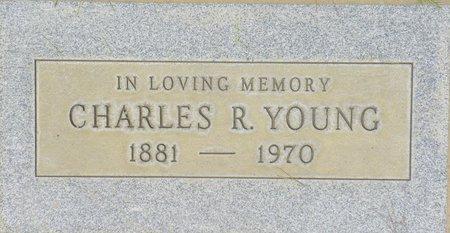 YOUNG, CHARLES R - Maricopa County, Arizona | CHARLES R YOUNG - Arizona Gravestone Photos