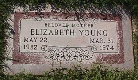 YOUNG, ELIZABETH - Maricopa County, Arizona | ELIZABETH YOUNG - Arizona Gravestone Photos