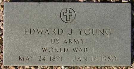YOUNG, EDWARD J. - Maricopa County, Arizona   EDWARD J. YOUNG - Arizona Gravestone Photos