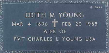 YOUNG, EDITH M. - Maricopa County, Arizona   EDITH M. YOUNG - Arizona Gravestone Photos