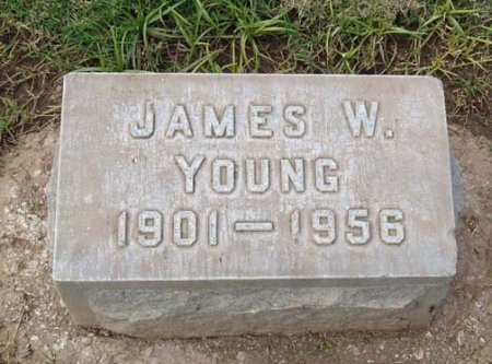 YOUNG, JAMES WATSON - Maricopa County, Arizona   JAMES WATSON YOUNG - Arizona Gravestone Photos