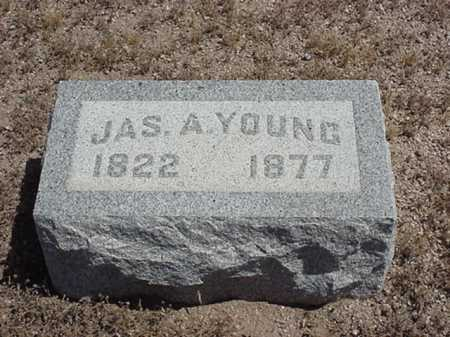 YOUNG, JAS/ JAMES A - Maricopa County, Arizona | JAS/ JAMES A YOUNG - Arizona Gravestone Photos