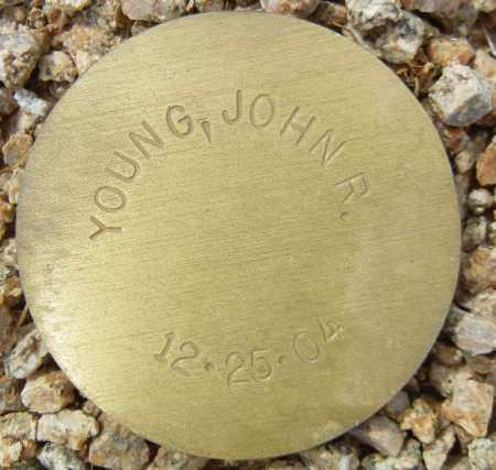 YOUNG, JOHN R. - Maricopa County, Arizona | JOHN R. YOUNG - Arizona Gravestone Photos