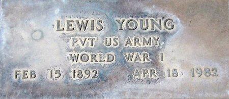 YOUNG, LEWIS - Maricopa County, Arizona | LEWIS YOUNG - Arizona Gravestone Photos