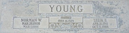 YOUNG, NORMAN W - Maricopa County, Arizona | NORMAN W YOUNG - Arizona Gravestone Photos