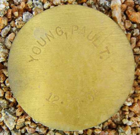 YOUNG, PAUL T. - Maricopa County, Arizona | PAUL T. YOUNG - Arizona Gravestone Photos