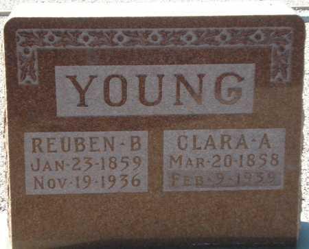YOUNG, CLARA A. - Maricopa County, Arizona | CLARA A. YOUNG - Arizona Gravestone Photos