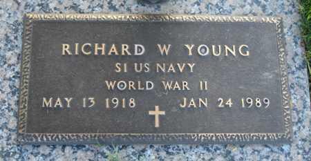 YOUNG, RICHARD W. - Maricopa County, Arizona | RICHARD W. YOUNG - Arizona Gravestone Photos
