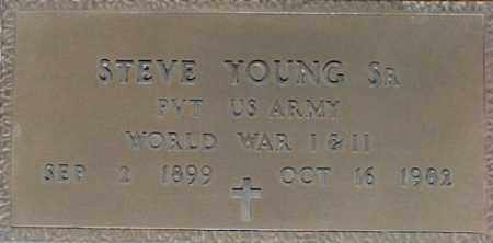 YOUNG, STEVE - Maricopa County, Arizona | STEVE YOUNG - Arizona Gravestone Photos