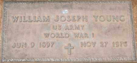 YOUNG, WILLIAM JOSEPH - Maricopa County, Arizona | WILLIAM JOSEPH YOUNG - Arizona Gravestone Photos