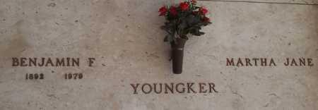 YOUNGKER, BENJAMIN F. - Maricopa County, Arizona | BENJAMIN F. YOUNGKER - Arizona Gravestone Photos