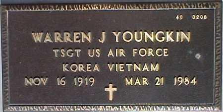 YOUNGKIN, WARREN J. - Maricopa County, Arizona | WARREN J. YOUNGKIN - Arizona Gravestone Photos