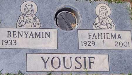 YOUSIF, FAHIEMA - Maricopa County, Arizona | FAHIEMA YOUSIF - Arizona Gravestone Photos