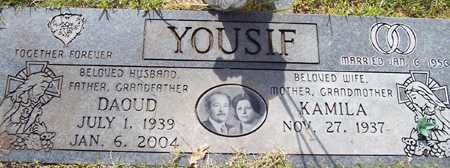 YOUSIF, KAMILA - Maricopa County, Arizona   KAMILA YOUSIF - Arizona Gravestone Photos
