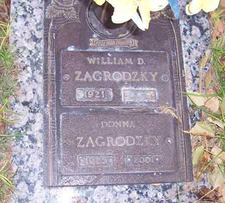 ZAGRODZKY, DONNA M. - Maricopa County, Arizona   DONNA M. ZAGRODZKY - Arizona Gravestone Photos