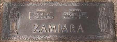 ZAMIARA, JOSEPH A - Maricopa County, Arizona | JOSEPH A ZAMIARA - Arizona Gravestone Photos