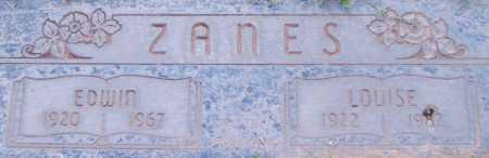 ZANES, EDWIN - Maricopa County, Arizona | EDWIN ZANES - Arizona Gravestone Photos