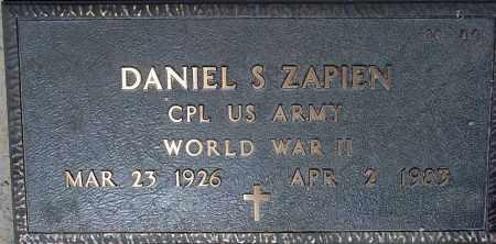 ZAPIEN, DANIEL S. - Maricopa County, Arizona | DANIEL S. ZAPIEN - Arizona Gravestone Photos