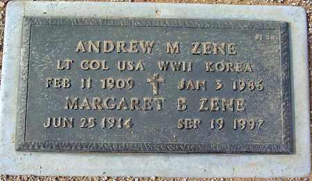 ZENE, ANDREW  M. - Maricopa County, Arizona   ANDREW  M. ZENE - Arizona Gravestone Photos