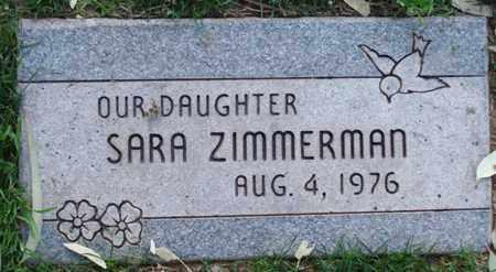 ZIMMERMAN, SARA - Maricopa County, Arizona   SARA ZIMMERMAN - Arizona Gravestone Photos