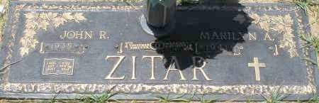 ZITAR, MARILYN A. - Maricopa County, Arizona | MARILYN A. ZITAR - Arizona Gravestone Photos