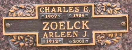 ZOELCK, CHARLES E - Maricopa County, Arizona   CHARLES E ZOELCK - Arizona Gravestone Photos