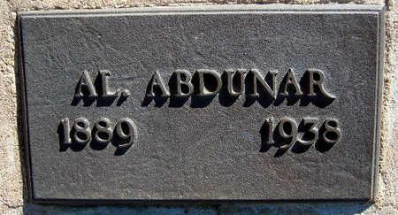 ABDUNAR, AL - Mohave County, Arizona | AL ABDUNAR - Arizona Gravestone Photos