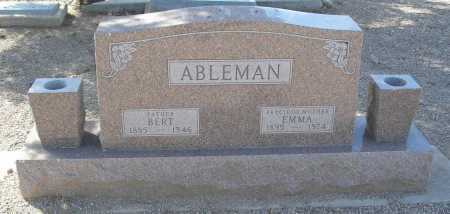 ABLEMAN, BERT - Mohave County, Arizona | BERT ABLEMAN - Arizona Gravestone Photos