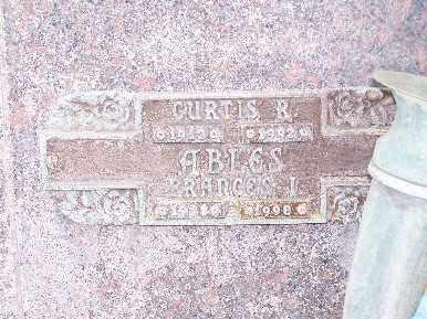 ABLES, CURTIS R - Mohave County, Arizona | CURTIS R ABLES - Arizona Gravestone Photos
