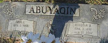 ABUYAQIN, SAFI I - Mohave County, Arizona | SAFI I ABUYAQIN - Arizona Gravestone Photos