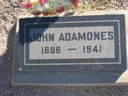 ADAMONES, JOHN - Mohave County, Arizona   JOHN ADAMONES - Arizona Gravestone Photos