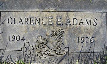 ADAMS, CLARENCE E - Mohave County, Arizona | CLARENCE E ADAMS - Arizona Gravestone Photos