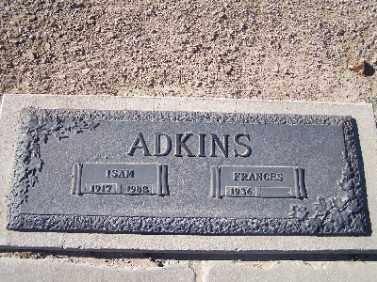 ADKINS, ISAM - Mohave County, Arizona | ISAM ADKINS - Arizona Gravestone Photos