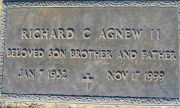 AGNEW, RICHARD C II - Mohave County, Arizona   RICHARD C II AGNEW - Arizona Gravestone Photos